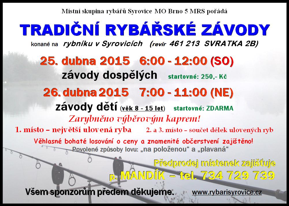 Závody plakát 2015