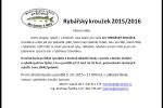 Rybářský kroužek 2015/2016